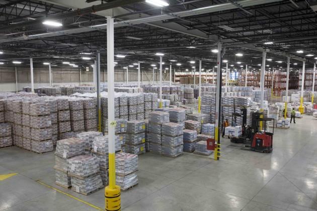 Mapei Brampton plant interior