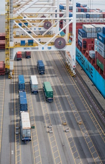 Canadian exporters often have a competitive edge in the domestic market, a factor likely to carry more weight as global trade barriers fall. PHOTO: Port Metro Vancouver