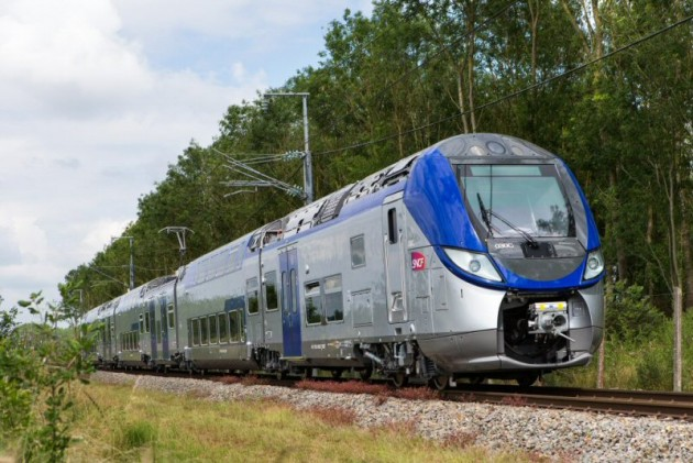 Bombardier's  Regio 2N Double-Deck train. French regions have ordered 209 to date. PHOTO: Bombardier