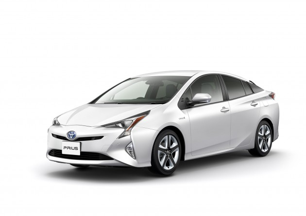 The Japanese automaker's Prius promised us much as 93 miles per gallon. PHOTO: Toyota