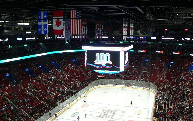 Interior of the Bell Centre. The arena attracts approximately 2.9 guests annually. PHOTO: Fleurdelisé, via Wikimedia Commons