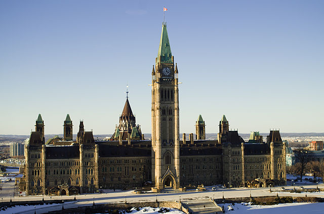 Canada's new Liberal majority will take up their position in parliament shortly. Meanwhile, Canadians remain divided over the largest trade deal in history.  PHOTO: Robyn Gibbard, via Wikimedia Commons