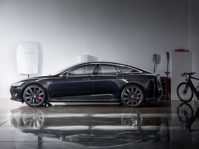 Tesla has touted its lithium-ion Powerwall as the beginning of a shift away from conventional power plants and toward microgrids. PHOTO: Tesla Motors
