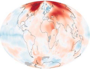 Global Temperature records PHOTO:NASA