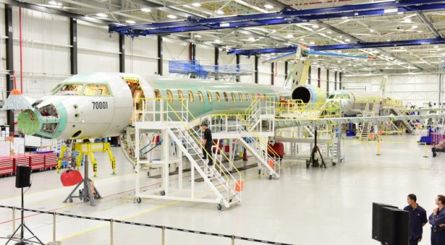 Bombardier's retrofitted assembly line can be optimized to produce enough vehicles to meet customer demand. PHOTO: Bombardier