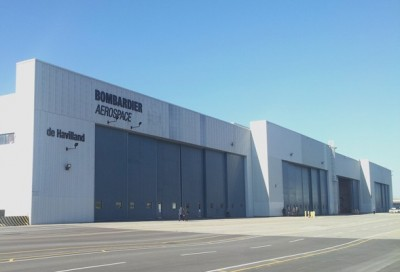 Bombardier's Global 7000 will be assembled in Bay 10 of its Toronto facility, which has been completely-overhauled to install the latest technology. PHOTO: David Kennedy