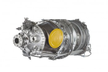Pratt & Whitney Canada's new PT6A-140A turboprop engine. The company says it is the most powerful and fuel efficient engine for the general aviation market. PHOTO: Pratt & Whitney Canada