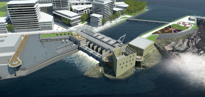 Rendering of the completed 29 megawatt facility.  PHOTO: CNW Group/Hydro Ottawa Holding Inc.