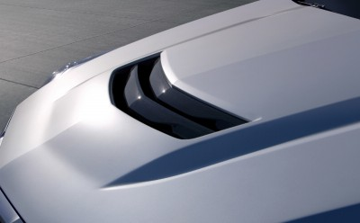 Magna has begun manufacturing the auto industry's first volume-production of carbon fiber hoods on the 2016 Cadillac ATS-V and CTS-V high performance models. PHOTO: General Motors