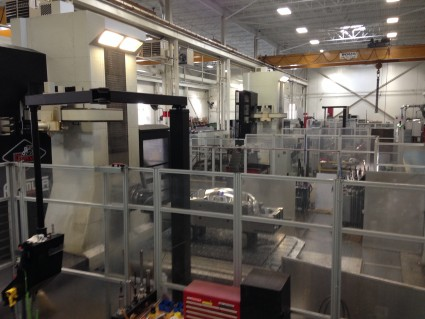Tycos manufacturing facility covers an area of 115,000 square-feet. PHOTO: Magna