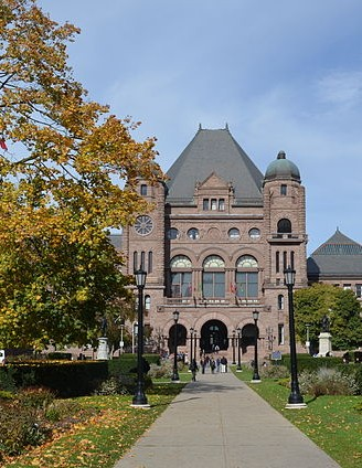 Ontario introduced its 2016 budget Thrusday, posting a deficit of $7.5 billion. PHOTO: Raysonho, via Wikimedia Commons