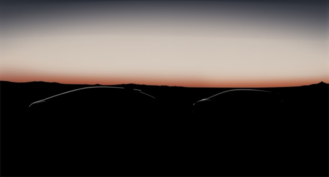 The cryptic image released by Faraday Future. The company  says it will launch a fully-electric vehicles in 2017. PHOTO: Faraday  Future