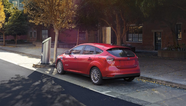 The new version of the Focus Electric will lead the company's renewed push into EVs starting next year. PHOTO: Ford