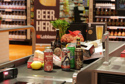 Beer has hit shelves at a range of grocery stores in Ontario, including 19 Loblaw locations across the province. PHOTO: CNW Group/Loblaw Companies Ltd.