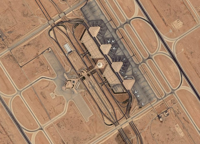 King Khalid International Airport in Saudi Arabia. Under the contract, SNC will build a district cooling system for the airport. PHOTO: Muhaidib, via Wikimedia Commons
