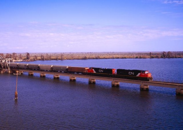 The one million wheels will be installed on CN freight cars at the railroad's Transcona facility. PHOTO: CN