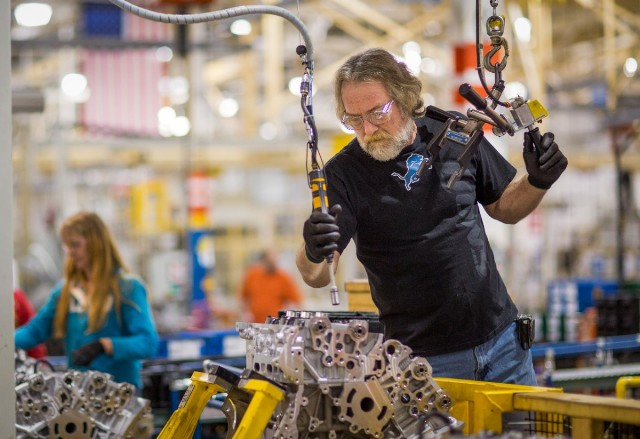 GM will invest more than $356 million in a new engine line in Flint, Mich. and driveline and powertrain components in Saginaw and Grand Rapids, creating more than 50 jobs. PHOTO: GM