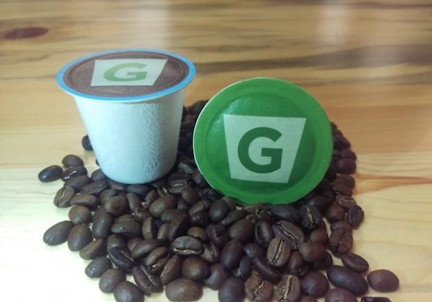G-Kup's 100 per cent compostable coffee pod. PHOTO G-Kup