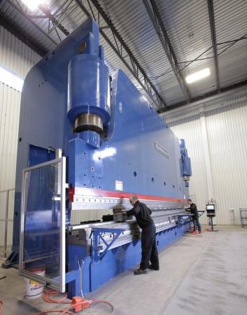 Metal Bernard 1500 ton press brake_2[2]