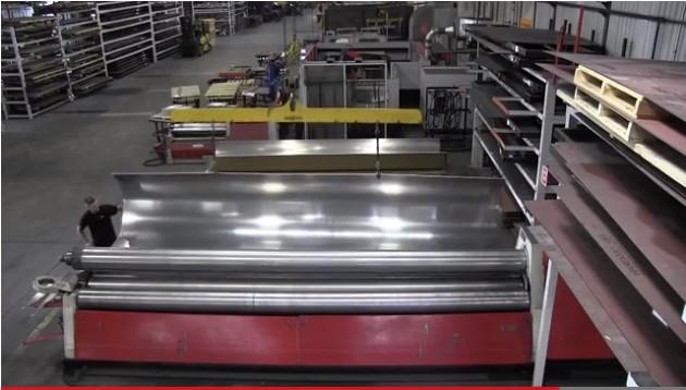 Metal Bernard plate roll