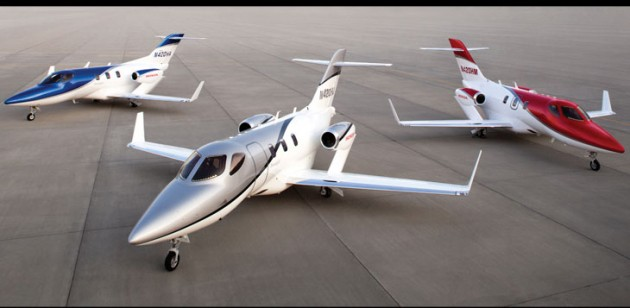 The HondaJet  is reaching customers at least five years behind schedule