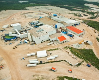 An aerial view of Cameco's Rabbit Lake operations in northern Sask. PHOTO: Cameco