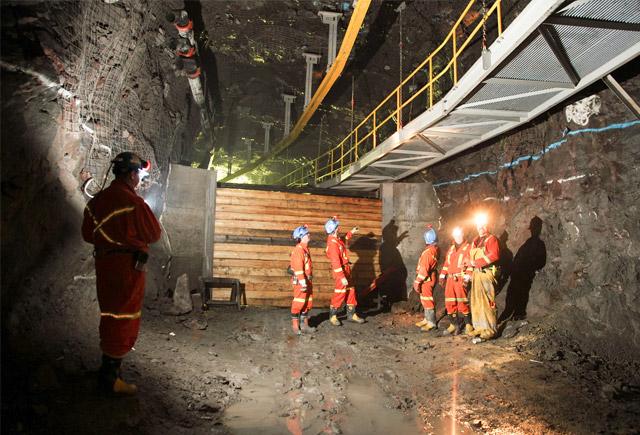 De Beers will close its Snap Lake diamond mine in 220 kilometres northeast of Yellowknife, N.W.T. PHOTO: De Beers