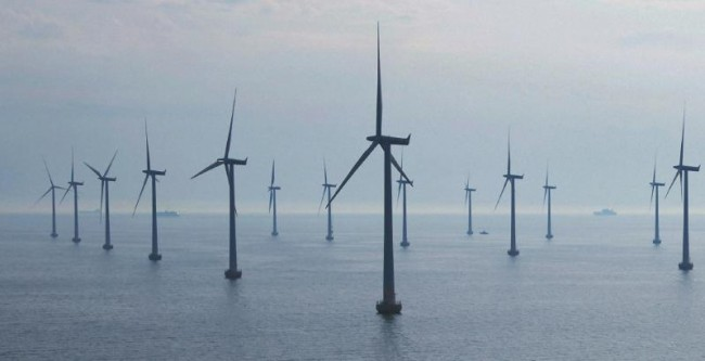 One of the major projects EDC undertook through its green bond program was providing 92.4 million euro in funding for the Gemini Wind Farm. PHOTO: Siemens