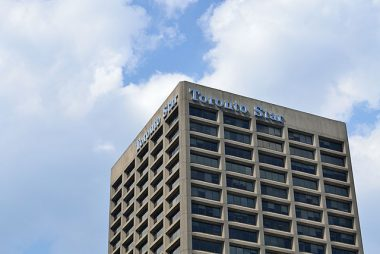 The Toronto Star will stop the presses later this year. PHOTO: Raysonho, via Wikimedia Commons