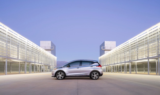 "The ""game-changing"" Chevrolet Bolt is slated to hit the market before Tesla introduces its mass-market EV. PHOTO: General Motors"