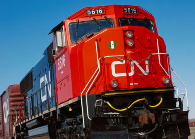 The railway announced its planned logistics hub last March. PHOTO: CN