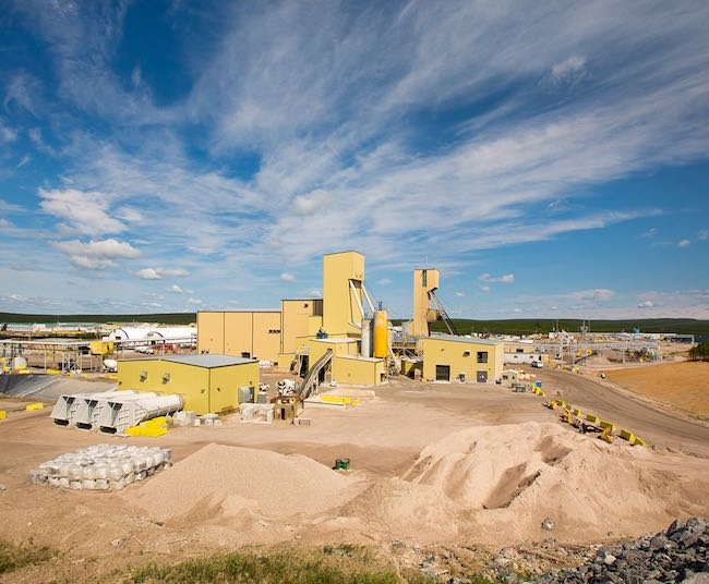 Cameco's Cigar Lake officially began production last fall. PHOTO: Cameco