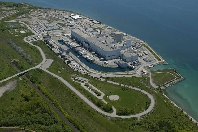 Aerial view of the Darlington Nuclear generation station. PHOTO: Ontario Power Generation