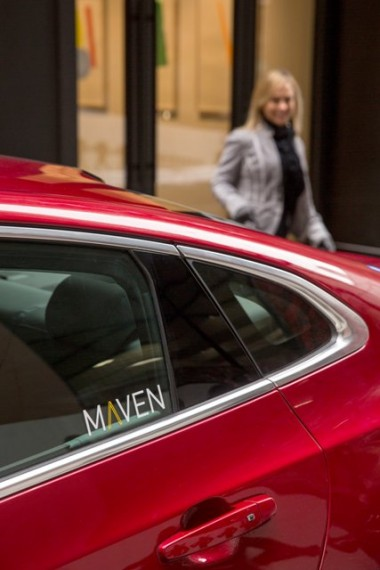 General Motors' new car-sharing service, Maven, will provide customers access to highly personalized, on-demand mobility services. Maven will offer its car-sharing program in Ann Arbor, Michigan, initially focusing on serving faculty and students at the University of Michigan. GM vehicles will be available at 21 spots across the city. Additional city-based programs will launch in major U.S. metropolitan areas later this year. PHOTO:  John F. Martin for General Motors