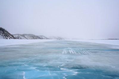 The current route between Inuvik and Tuktoyaktuk is a seasonal ice road. PHOTO: Ian Mackenzie, via Wikimedia Commons
