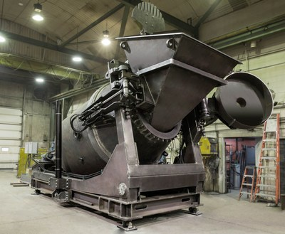 PyroGensis's DROSRITE furnace. Once the system is commissioned, the cleantech firm will be able to PHOTO: PyroGenesis