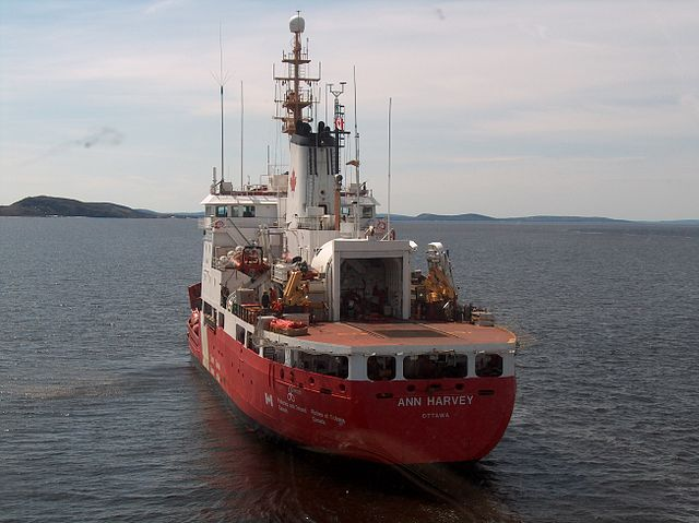 Canadian Coast Guard Ship Ann Harvey. PHOTO:  MADoates, via Wikimedia Commons