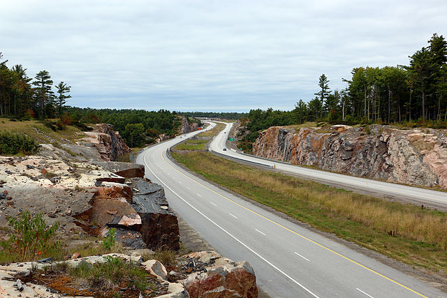 Ontario has been working to widen Highway 69 to promote economic growth in Northeastern Ontario. PHOTO: Sonysnob, via Wikimedia Commons