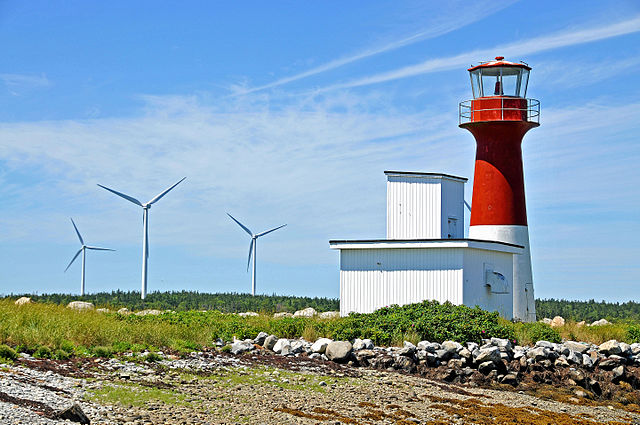 Nova Scotia has increased its wind power capacity from just one per cent in 2007 to 14 per cent today. PHOTO: Dennis Jarvis, via Wikimedia Commons