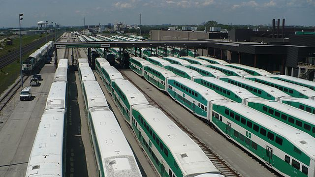 The new Whitby facility will complement GO Transit's existing Willowbrook maintenance yard in Etobicoke.