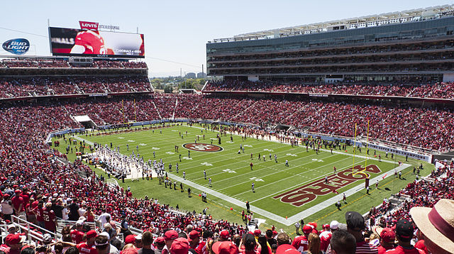 Super Bowl 50 will take place Sunday at Levi's Stadium. PHOTO: Jim Bahn, via Flickr