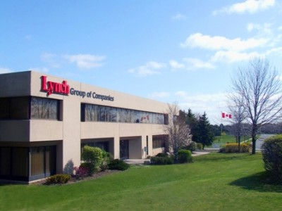 The Lynch Group's headquarters in Mississauga, Ont. The traditional manufacturing company has launched a number of initiatives from installing a green roof to offering employees incentives for living more sustainably. PHOTO: Lynch