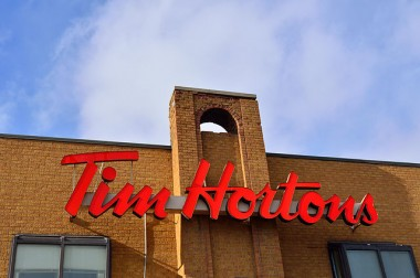 Tim Horton's parent company said it will go entirely cage-free by 2025. PHOTO: Raysonho, via Wikimedia Commons
