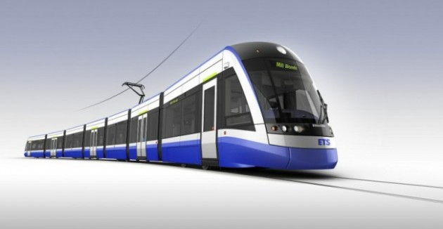 Canadian-built FLEXITY light rail vehicles from Bombardier. PHOTO: Bombardier