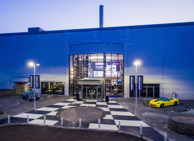 The company's new Powertrain Performance and Racing Center in Pontiac, Mich. PHOTO: GM