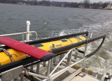 The Newfoundland-based company's KATFISH seabed mapping system is currently undergoing sea trials. PHOTO: Kraken