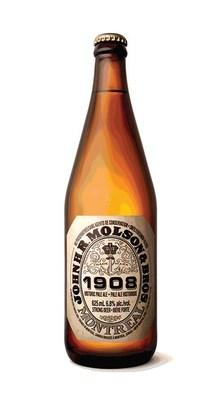The brewer's John H.R Molson and Bros. 1908 Historic Pale Ale. PHOTO: Molson
