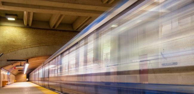 Bombardier's new Azur train will begin passenger testing on the city's subway this week. PHOTO: STM