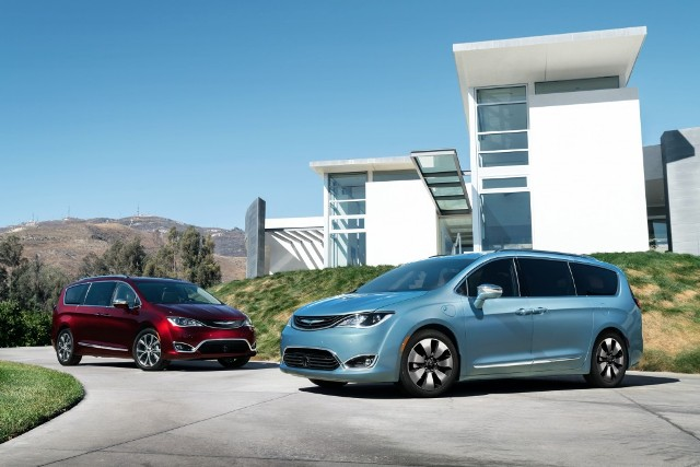 The redesigned minivan will premiere at the Canadian Auto Show Feb. 12. PHOTO: FCA