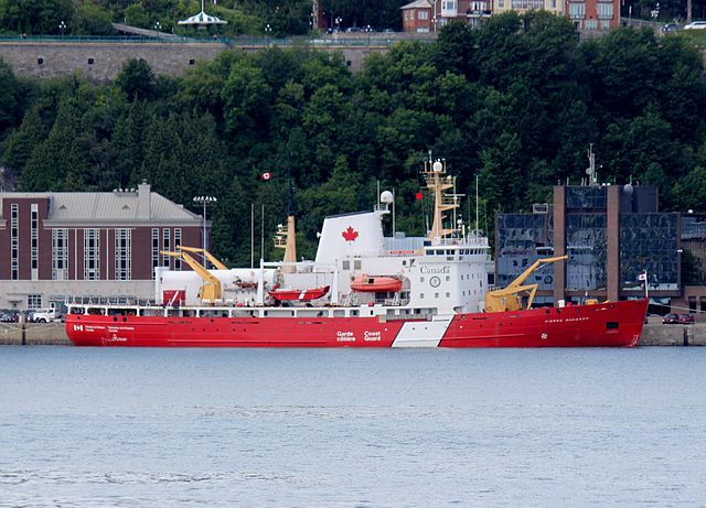 The Pierre Radisson is home-ported in Quebec and has a core crew of 35. It was built in 1978. PHOTO: Fxp42, via Wikimedia Commons